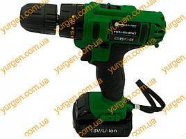 Аккумуляторный шуруповёрт Craft-tec PXID 18-2-Li ударный