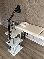 Кушетка + подушка+ этажерка+лампа SOFFA (работаем без предоплаты)