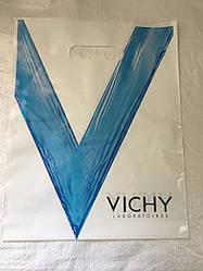 Полиэтиленовый пакет с прорезной ручкой ''VICHY'' 240*310, 50 шт