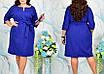 Платье больших размеров прямого кроя, фото 3