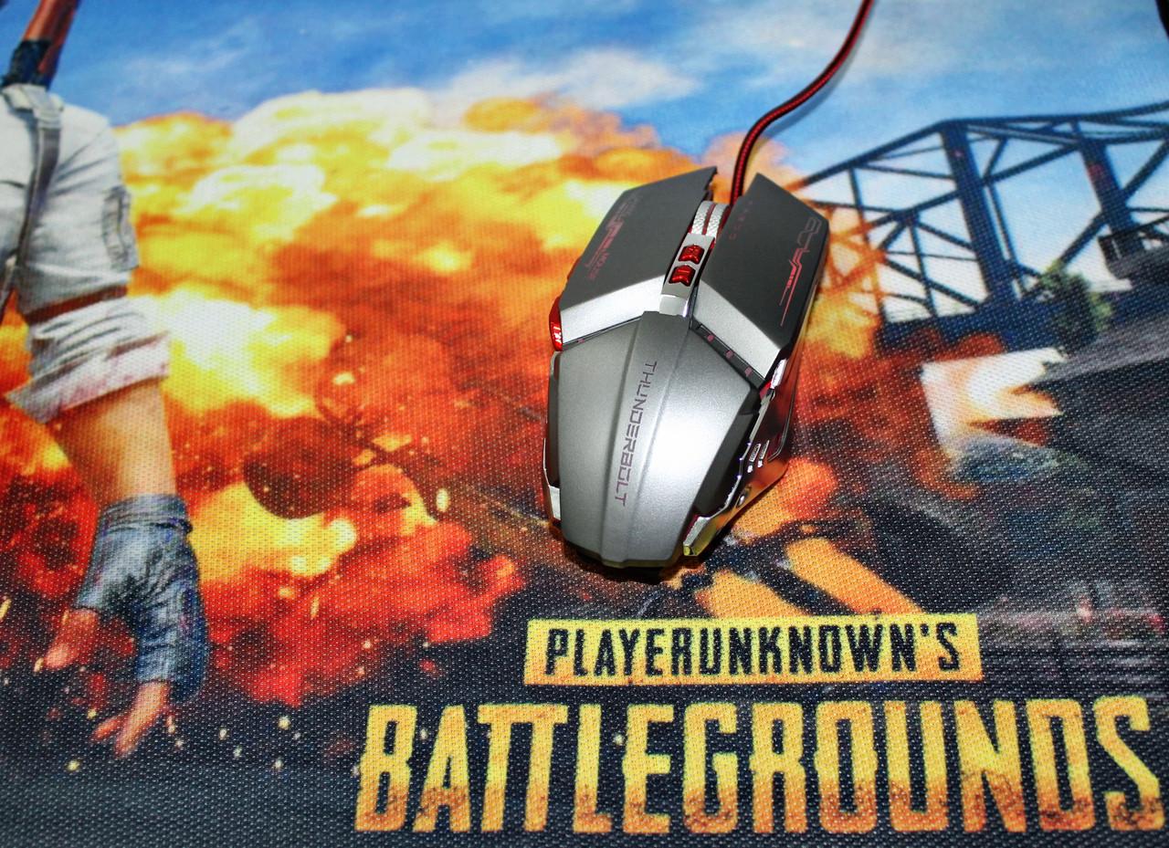 Комплект мышь + коврик Battlegrounds 3XL