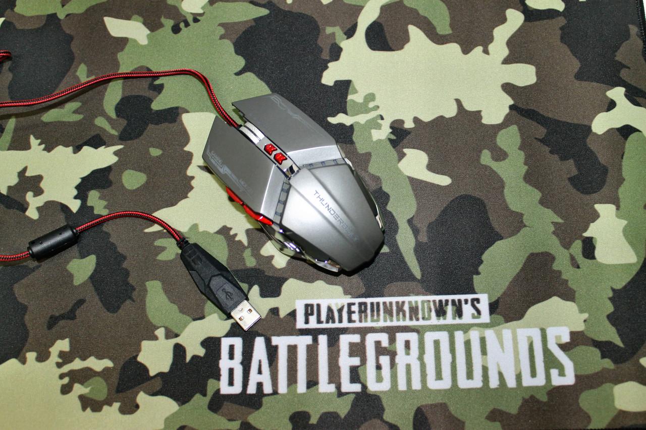 Геймерский комплект мышь с игровой поверхностью Battlegrounds 2XL