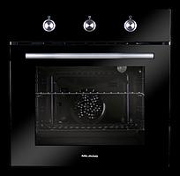 Духова шафа електричний Milano,духовка ПІД 605 Black Glass