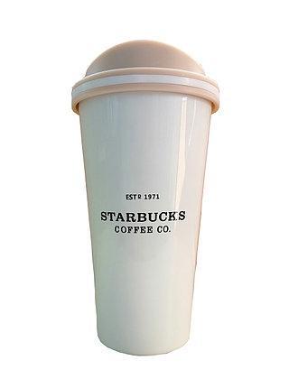 Термокружка 0,5 л Starbucks Coffee Co. белая