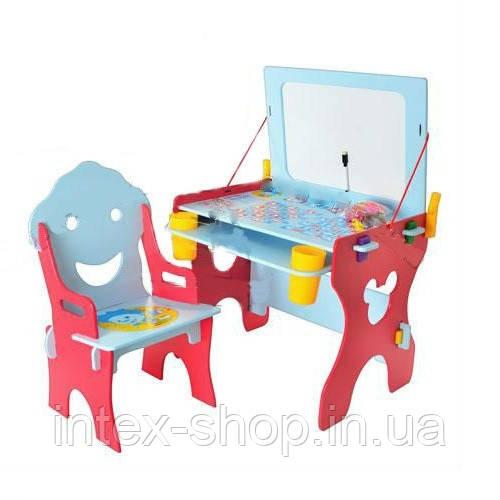Детская парта со стульчиком для детей от 2-х лет Bambi (Metr+) W 017-1. киев