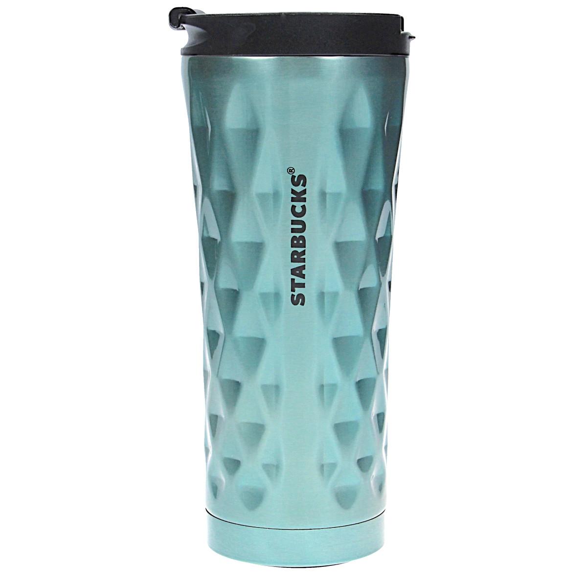 Термокружка 0,45 л Starbucks Diamond голубая