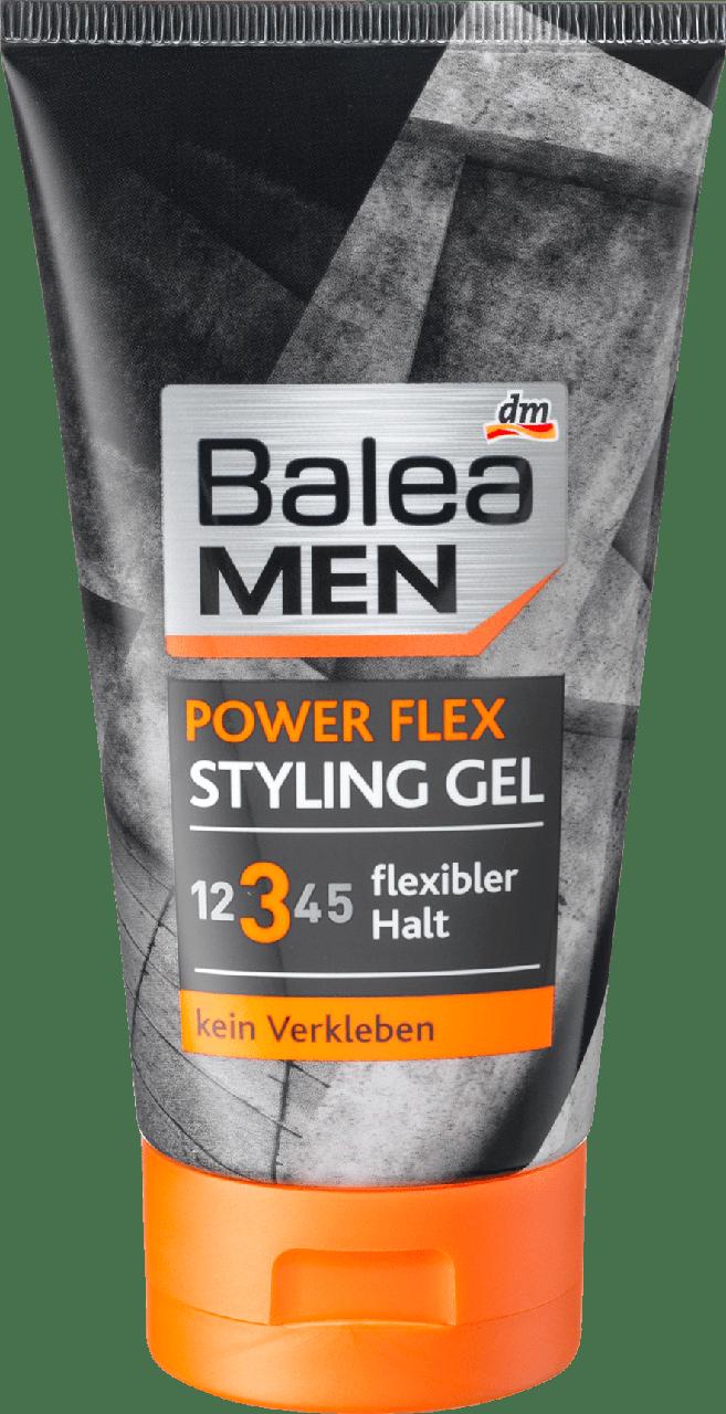Стайлинг гель для волос Balea MEN Styling Gel Power Flex, 150 ml.