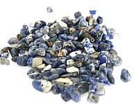 Крошка из натурального камня, лазурит - 10 грамм