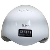 Профессиональная LED-лампа для сушки гелей и гель лаков SUN-5 Plus 48W + ПОДАРОК: Наушники для Apple iPhone 5