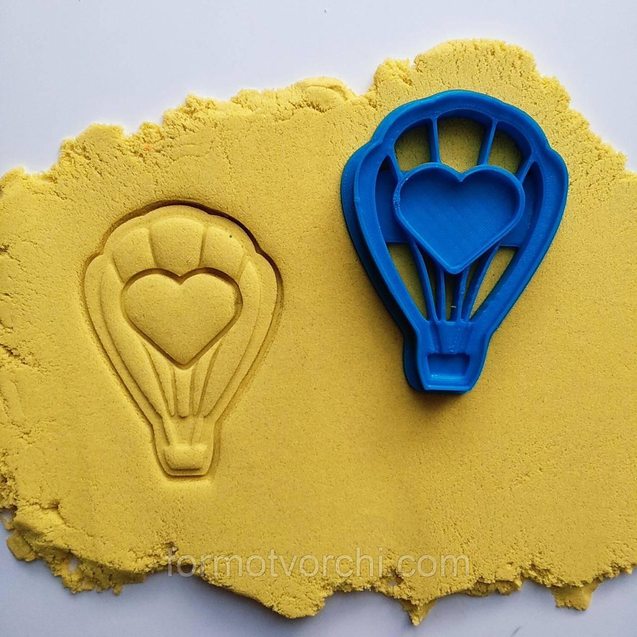"""3D формочки-вырубки для пряников""""Воздушный шар """""""