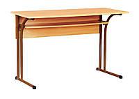Стол лабораторный для кабинета химии без мойки (80331) Коричневый