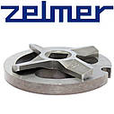 Нож для мясорубки Zelmer №8 (двухсторонний) и решетка, фото 4