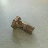 Болт гидравлики мототрактора колесо 6.00-12