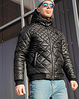 Мужская зимняя куртка теплая демисезонная Philipp Plein Реплика Отличного качества, фото 1