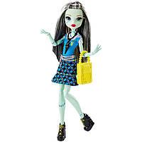 Кукла Monster High Frankie Stein Френки Штейн Первый день в школе (DNW99)