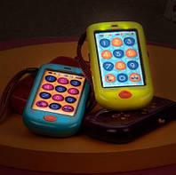 Первый игрушечный смартфон Battat (свет,звук, цвет морской)