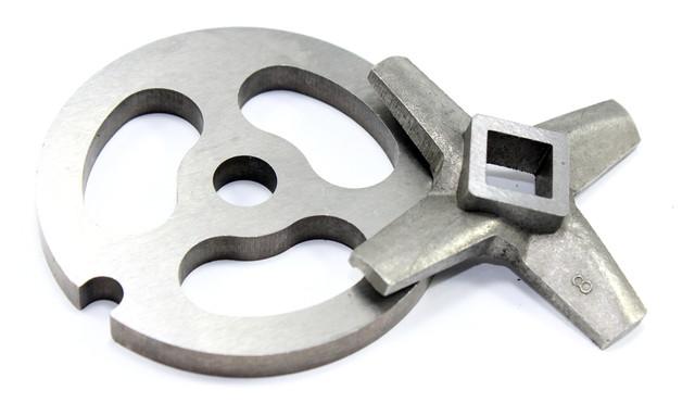комплект нож и решетка для мясорубки zelmer