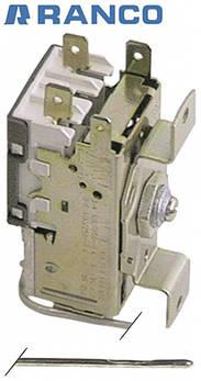Термостат K50-L3163 -24 до -14 °C Ranco для холодильного оборудования Brema, Electrolux и др. универсальный