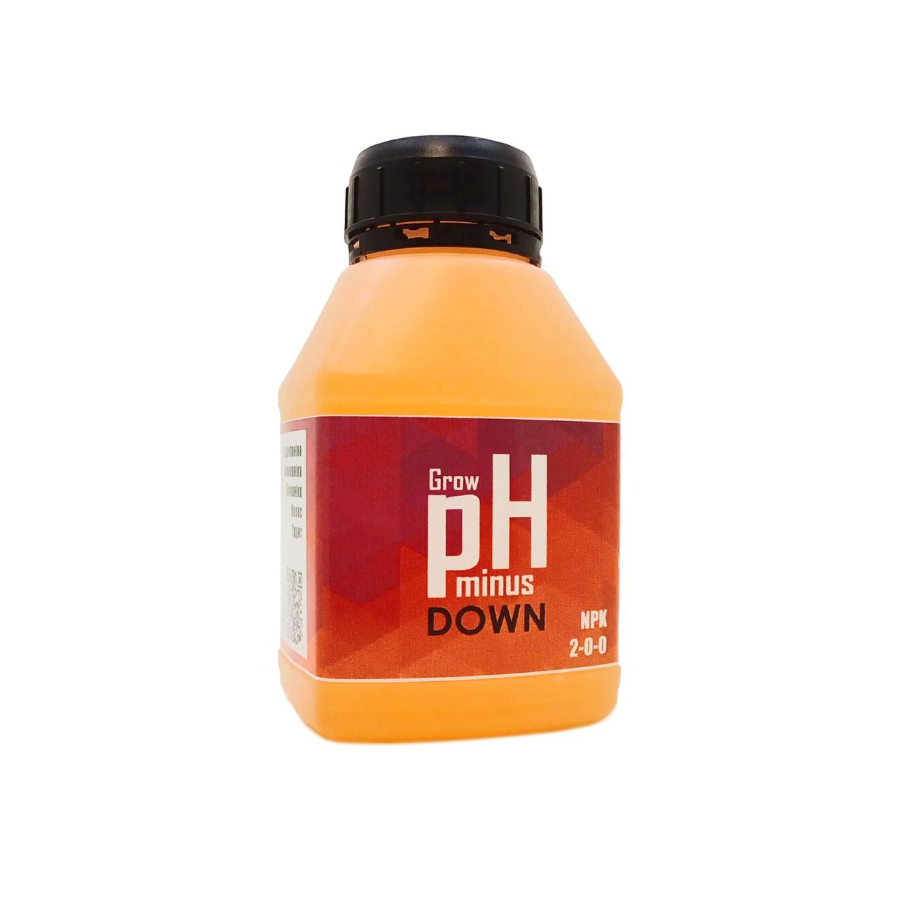 270 мл Корректор pH Down/minus  Grow