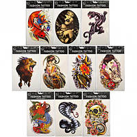 """Татуировки цветные """"Тattoo"""", фото 1"""