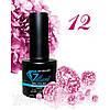 Гель-Лак №012 Magenta Shine (блестящий малиновый) UV/LED Gelliant 7 мл.