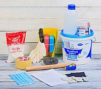 Жидкий наливной акрил Plastall ТМ Просто и Легко в наборе для реставрации ванн 1.5 м - R133948