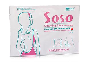 """Пластырь для снижения веса """"Soso Slimming Patch"""""""