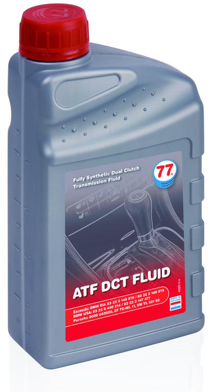 ATF DCT FLUID для коробок передач нового поколения с двойным сцеплением
