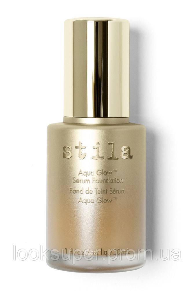 База для макияжа лица STILA Aqua Glow™ Serum Foundation. TAN