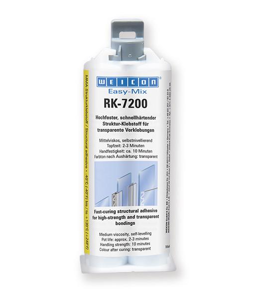 WEICON Easy-Mix RK-7200 Двухкомпонентный конструкционный клей. Высокая вязкость. Высокая сила.