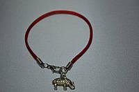 Браслет  красная нить Слон