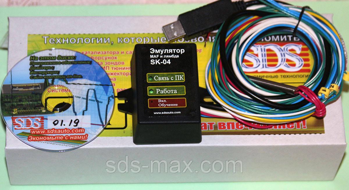 Эмулятор лямбда и MAF SK-04