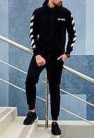 Мужской спортивный костюм зимний в стиле Off White, фото 1