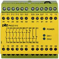 774706 Реле безпеки PILZ PNOZ X10 230-240VAC 6n/o 4n/c 3LED, фото 2