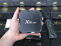 Оригінальна TV-Приставка X96 MAX DDR4 2GB/16GB S905X2 (Android Smart TV Box)