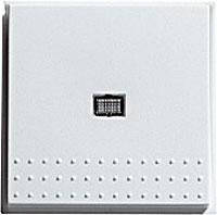 """Кнопочный выключатель вертикальный переключатель с контрольным окном Gira TX_44 (WG UP) белый """"Gira 012066"""""""