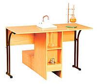 Стол лабораторный для кабинета химии (80332) Коричневый