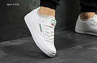 Мужские кроссовки Reebok Classic Club C85 Face White/Green