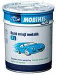 Авто краска (автоэмаль) металлик Mobihel (Мобихел) 651 Черный Трюфель 1л