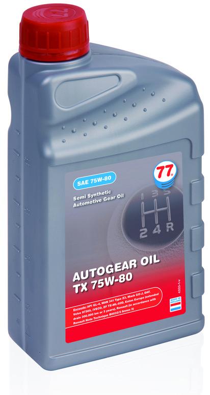 Autogear Oil TX 75W-80,  GL-5