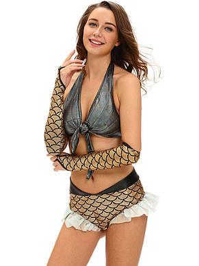 Костюм русалки с перчатками, фото 2