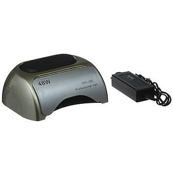 Лампа гибридная Nail Professional 48W CCFL+LED Серебро