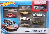 Набор машинок Hot Wheels 9 шт