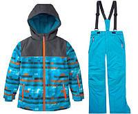 Зимний термокомбинезон Topolino для мальчика 164, 170 см раздельный лыжный костюм