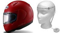 Таблицы соответствия размеров мотошлемов в зависимости от длины окружности головы