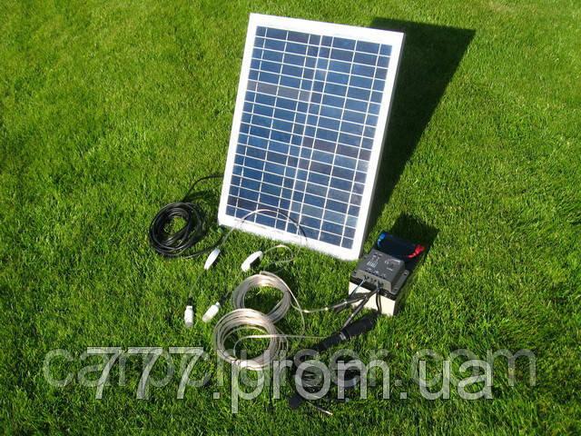 Электростанция Походная-Мини на Солнечных Батареях 10W-12V, банк солнечной энергии, продажа в Украине