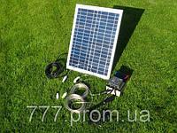 Электростанция Походная-Мини на Солнечных Батареях 10W-12V, банк солнечной энергии, продажа в Украине, фото 1