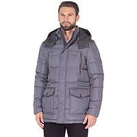 Куртка мужская Geox M7425F Dark Rock 58 Серый (M7425FDKR)