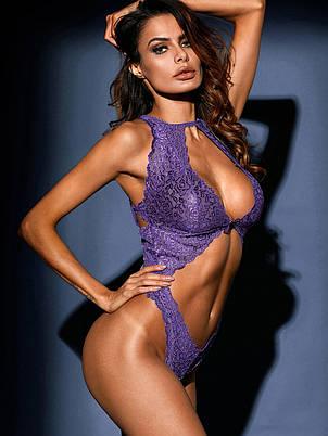 Сексуальное монокини Фиолетовый, фото 2