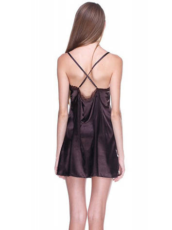 Женская сатиновая ночная рубашка, фото 2
